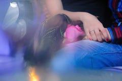 verpflichtung Haltene Hände - Foto auf Lager Lizenzfreie Stockbilder