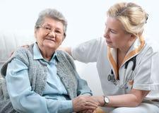 Verpleeghuis stock afbeelding