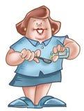 Verpleegster Stock Afbeelding