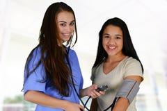 verpleegster royalty-vrije stock afbeeldingen