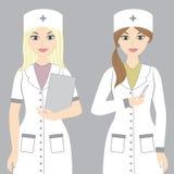Verpleegsters Royalty-vrije Stock Afbeeldingen