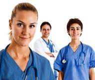 Verpleegstersportret Stock Fotografie