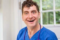 Verpleger Stethoscope stock foto's