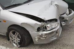 Verpletterde auto Stock Foto