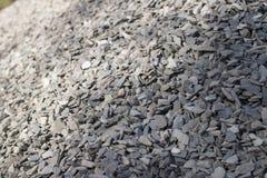 Verpletterde grijze steen Royalty-vrije Stock Afbeeldingen