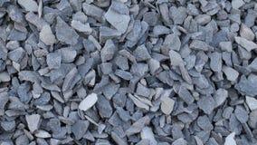 Verpletterde grijze steen Royalty-vrije Stock Foto's
