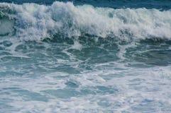 Verpletterende golven Royalty-vrije Stock Fotografie