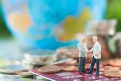 Verplichting, overeenkomst, investering, vennootschap, Elektronische handel en Stock Foto's