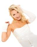 Verrückte Braut Lizenzfreies Stockbild