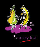 Verrückte Früchte stock abbildung