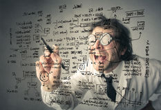 Verrückte Grafiken Lizenzfreie Stockfotos