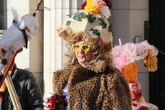 Verrückte Parade Belgien Stockbild