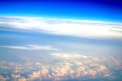Verrückte Wolken Stockbild