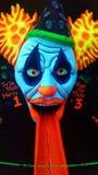 Verrückter Clown Stockbild