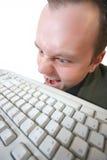 Verrückter Hacker Lizenzfreies Stockbild