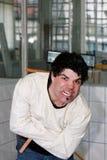 Verrückter Mann Lizenzfreies Stockfoto