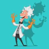 Verrückter Wissenschaftler Lizenzfreies Stockfoto
