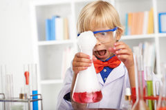 Verrückter Wissenschaftler Lizenzfreies Stockbild