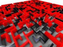 Verrücktes Labyrinth Stockfotos