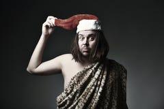 Verrücktes Weihnachten lizenzfreie stockfotos