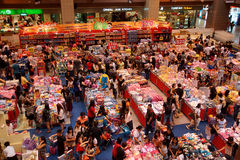 Verrücktester Spielzeug-Verkauf Stockfotografie