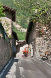 Verrand, Courmayeur Royalty Free Stock Photos