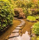 Verrassend tuin in het westen van Kanada Stock Afbeeldingen