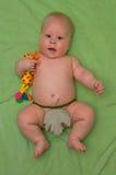 Verraste baby Stock Foto