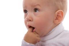 Verraste baby Stock Foto's