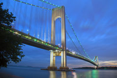 Verrazano Bridge Stock Image