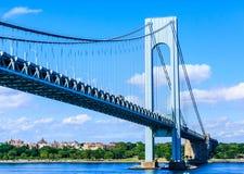 Verrazano Bridge Into Brooklyn Royalty Free Stock Image
