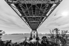 Verrazano Bridge Underpass Stock Images
