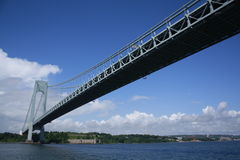 Verrazano-Narrows Bridge Stock Photo