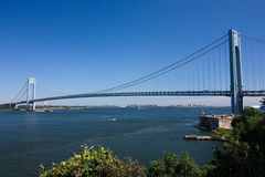 Verrazano-Narrows Bridge. New York stock photo