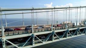 Verrazano Narrows Bridge stock video