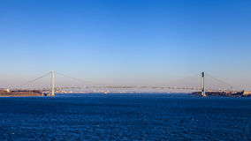 The Verrazano Narrows Bridge Stock Image