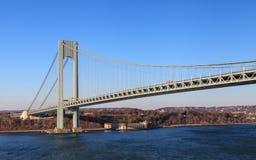 The Verrazano Narrows Bridge Royalty Free Stock Photo