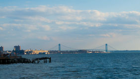 Verrazano Narrows Bridge Royalty Free Stock Images
