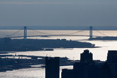 Verrazano Narrows Bridge New York City Stock Image