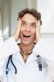 Verrückter Doktor Stockfoto