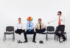Verrückter Tag im Büro Lizenzfreie Stockfotos