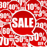 Verrückter Verkauf Stockfotos