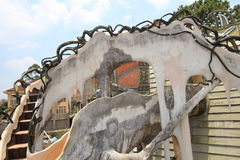 Verrücktes Haus in DA-Lat, Vietnam Lizenzfreie Stockfotos