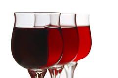 Verre à vin Images libres de droits