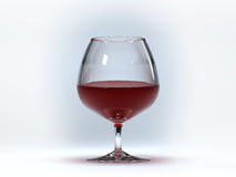 Verre à vin Photo libre de droits