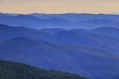 Verre bergketen Stock Fotografie