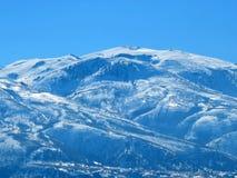 Verre blauwe heuvels royalty-vrije stock foto