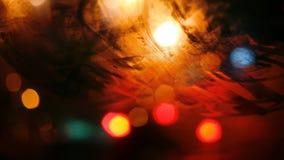 Verre brumeux pendant la nuit photos libres de droits
