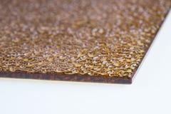 Verre cannelé Élément de conception La texture onduleuse photo stock
