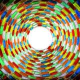 Verre coloré Photographie stock libre de droits